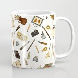 Creative Artist Tools - Watercolor Coffee Mug