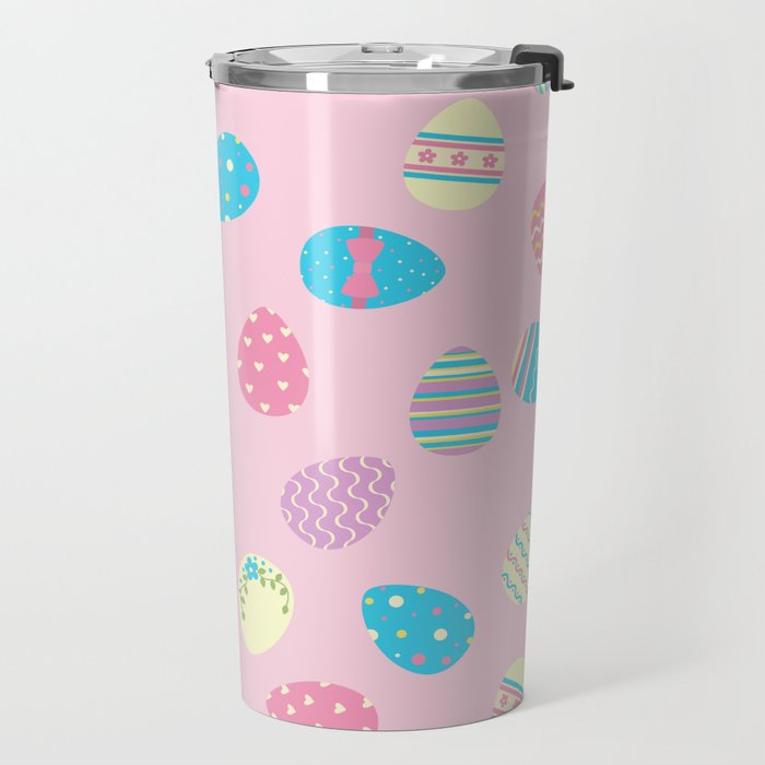 Easter Eggs Travel Mug