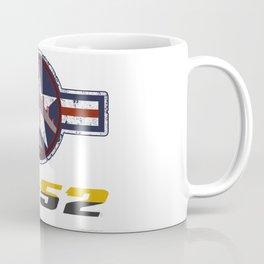 B-52 with Insignia  Coffee Mug