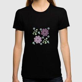 Wild Flowers in Lavender T-shirt