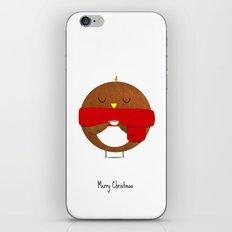 Christmas Robin! iPhone & iPod Skin