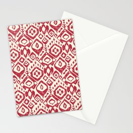 lezat red Stationery Cards