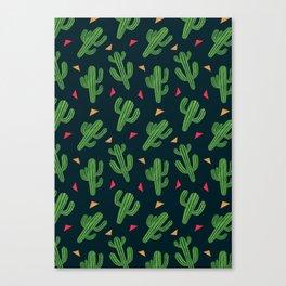 Cactus Fiesta Canvas Print