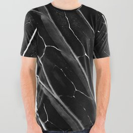 The black leaf All Over Graphic Tee
