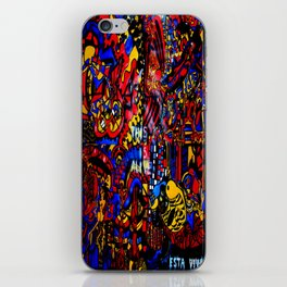 This is alive/Esta vivo iPhone Skin
