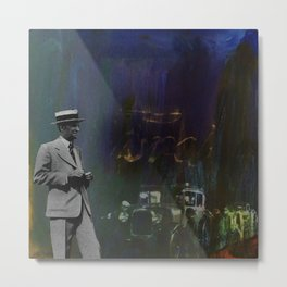 Death Of Detroit - Ford Metal Print