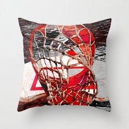 basketball vs 61 Throw Pillow