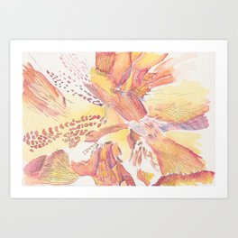 Flower Detail Series Art Print