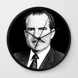 President Richard Nixon Graphic Wall Clock