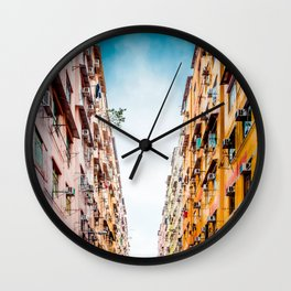 Residential apartment in old district, Hong Kong Wall Clock