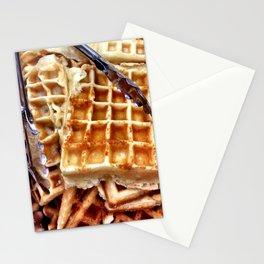 Waffles. Stationery Cards
