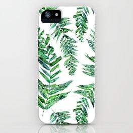 Jungle Ferns iPhone Case
