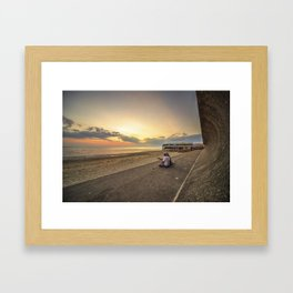 Sunset Serenade  Framed Art Print