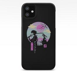 Samurai Chillhop iPhone Case
