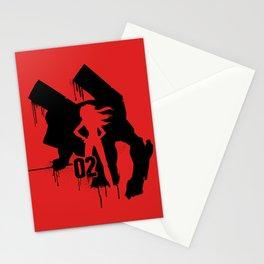 Asuka (Eva Unit-02) Stationery Cards