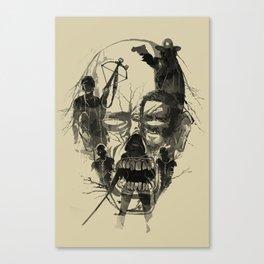Dead Walker Canvas Print