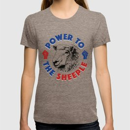 Power To The Sheeple T-shirt
