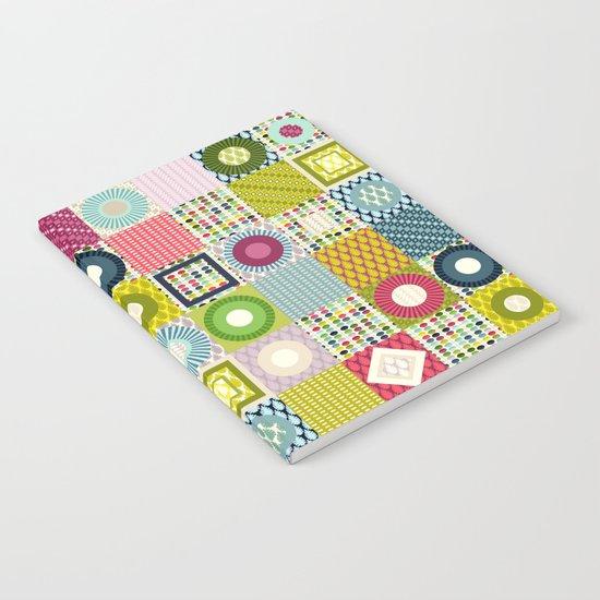 leaf squares Notebook