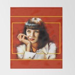 Mia Thurman Throw Blanket