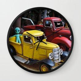 Space Traveler Wall Clock