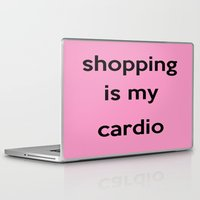 shopping Laptop & iPad Skins featuring SHOPPING by I Love Decor