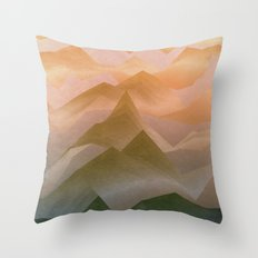 Top of the World (Sunrise) Throw Pillow
