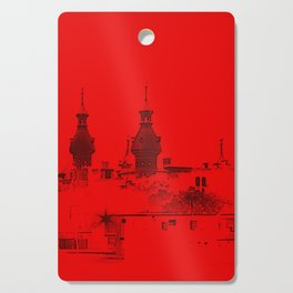 University of Tampa -- Black and Red Cutting Board