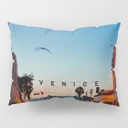Venice Beach California Sunrise Pillow Sham