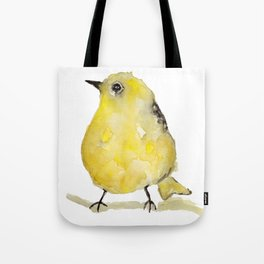 Little Yellow Bird Tote Bag