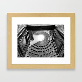 Rome [Perspective Angle N°3] Italy Framed Art Print