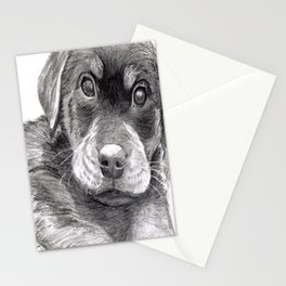 Black and White 8 Stationery Cards