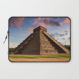 The Feather Serpent - Equinox in Kukulkan Pyramid, Chichen Itza Laptop Sleeve