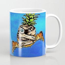 Mummified Pineapple Monster Coffee Mug