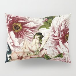 Vintage Peony and Ipomea Pattern - Smelling Dreams Pillow Sham