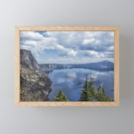 Crater Lake from the North Rim, No. 2 Framed Mini Art Print