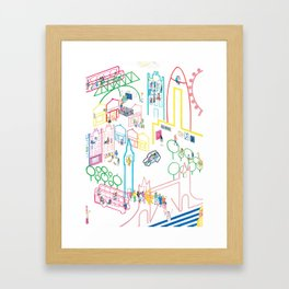 London Places and Spaces Framed Art Print