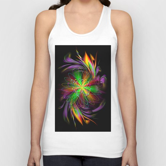 Abstract Perfektion 78 Unisex Tank Top