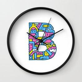 Just B Coz Wall Clock