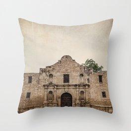 The Alamo Throw Pillow