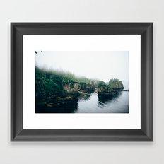 Cape Flattery Fog Framed Art Print