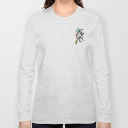 Green Galaxy Witchy Long Sleeve T-shirt
