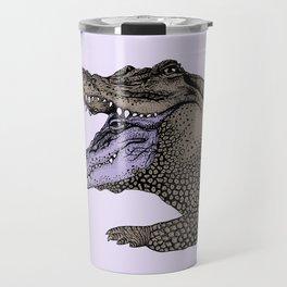 Double-Headed Alligator Travel Mug