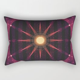 Sol System - The Asteroid Belt Rectangular Pillow