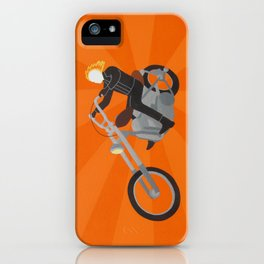 Ghost Rider Simplified iPhone Case