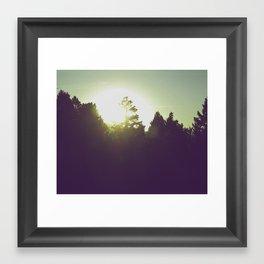 Good Morning Yellowstone Framed Art Print