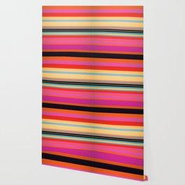 Sunset Stripes Wallpaper