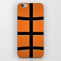 basketball iPhone & iPod Skins featuring Basketball by Eye Shutter to Think Photography