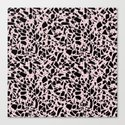 Terrazzo Spots Black on Blush Repeat by projectm