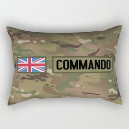 British Flag: Commando Rectangular Pillow