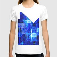 discount T-shirts featuring Sapphire Nebulæ by Aaron Carberry